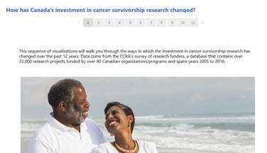 cancer survivorship visualization