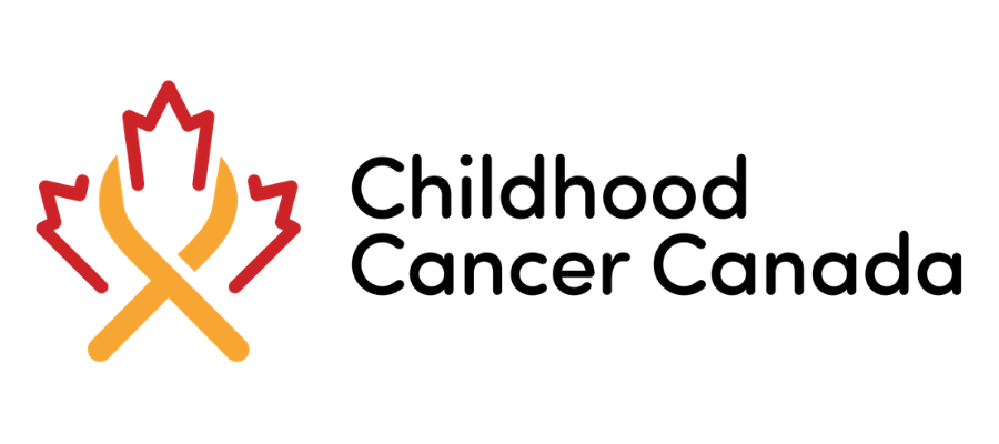 Childhood cancer canada logo